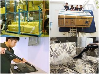 保管 家具の吊業 ハウスクリーニング 家財クリーニング