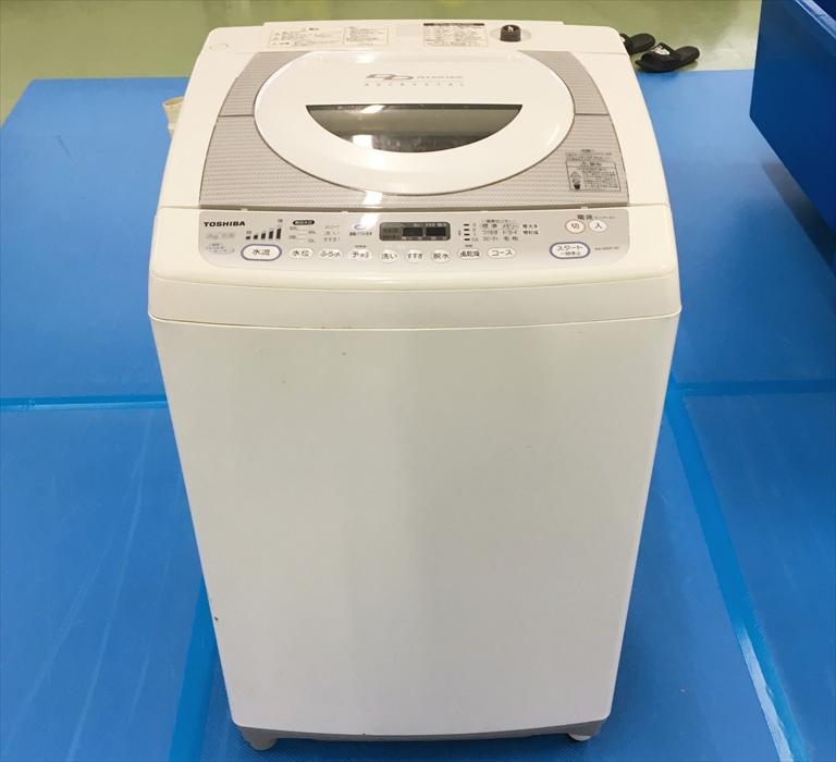 分解クリーニングをする洗濯機