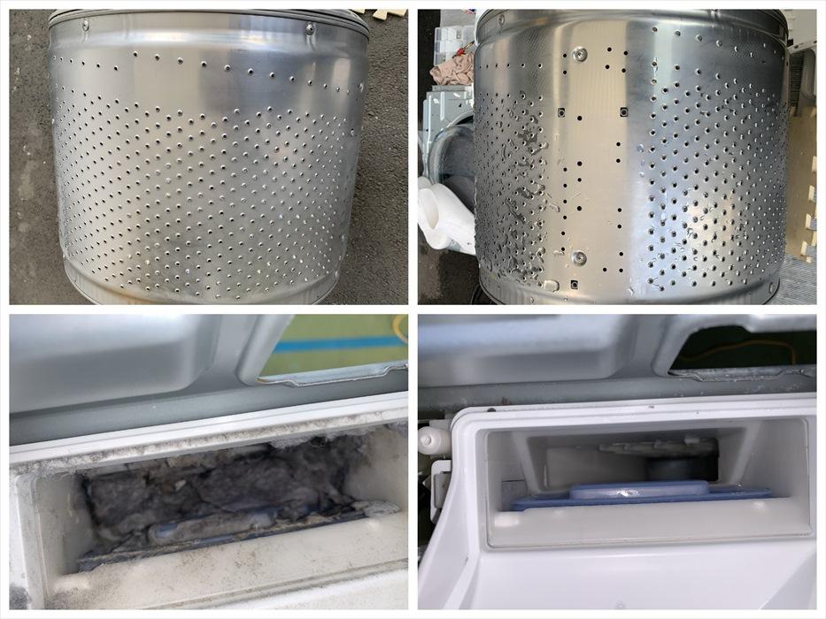 ドラム洗濯機分解洗浄.14