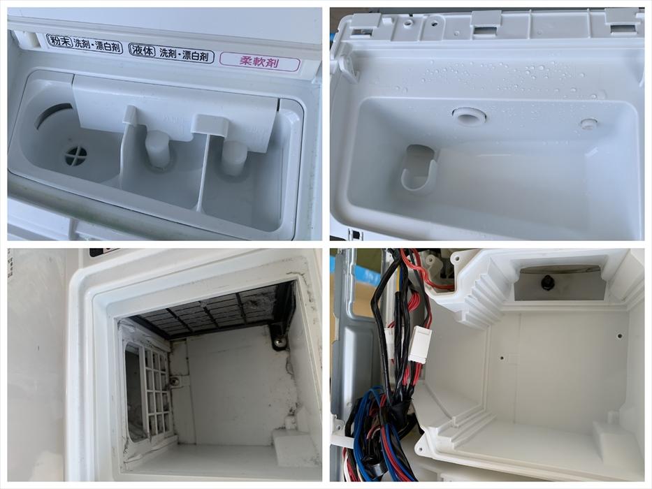 ドラム洗濯機分解洗浄.15