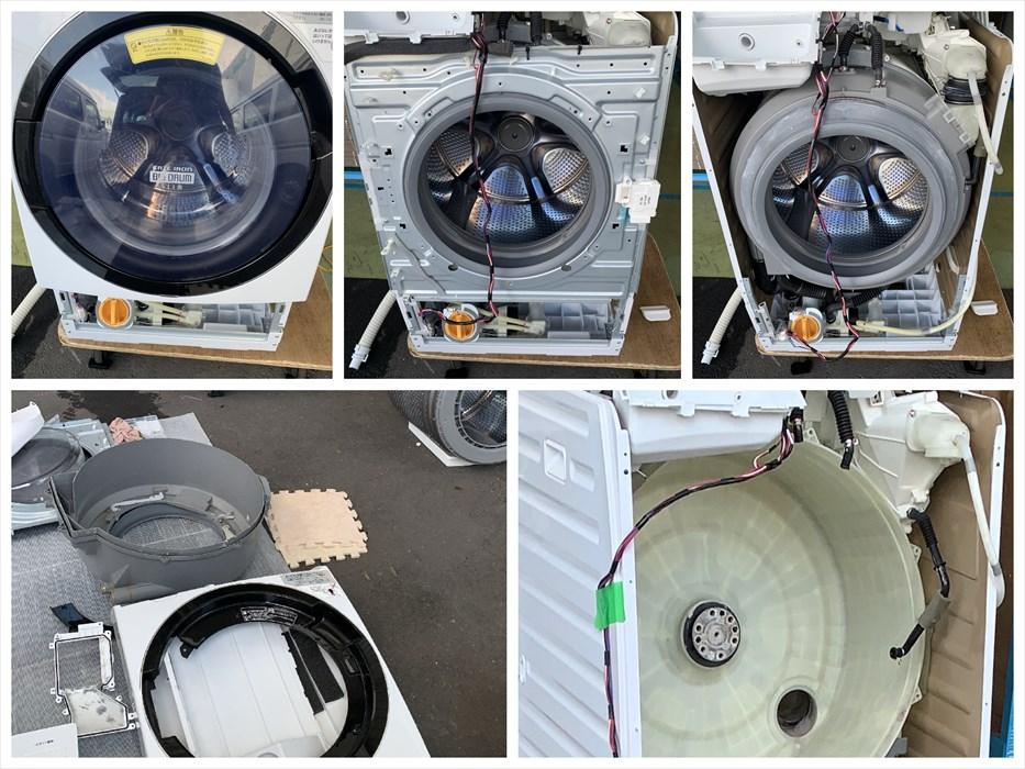 ドラム洗濯機分解洗浄.2