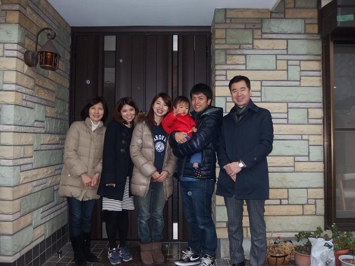 ご家族さまの集合写真