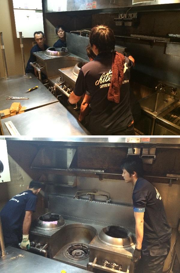 重量厨房機器の運搬設置.2