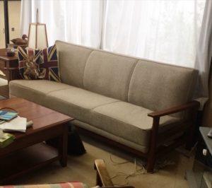 イギリス製アンティークソファ