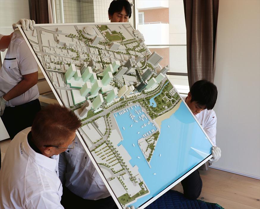 ワードビレッジ建築模型