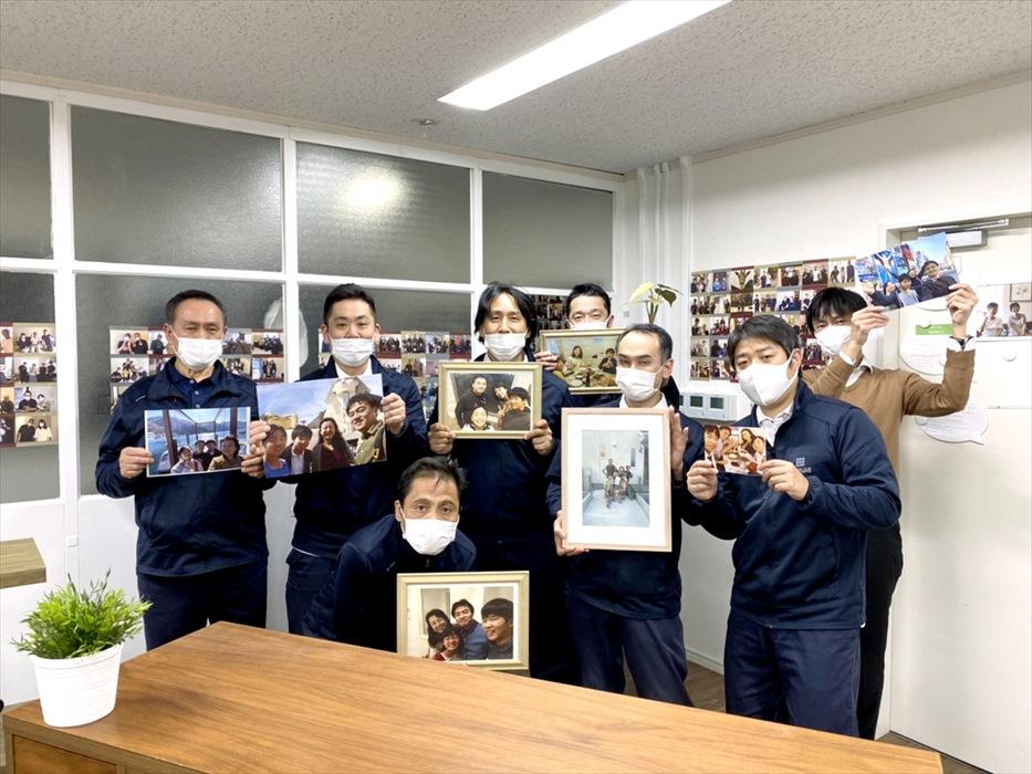田中様へお礼写真