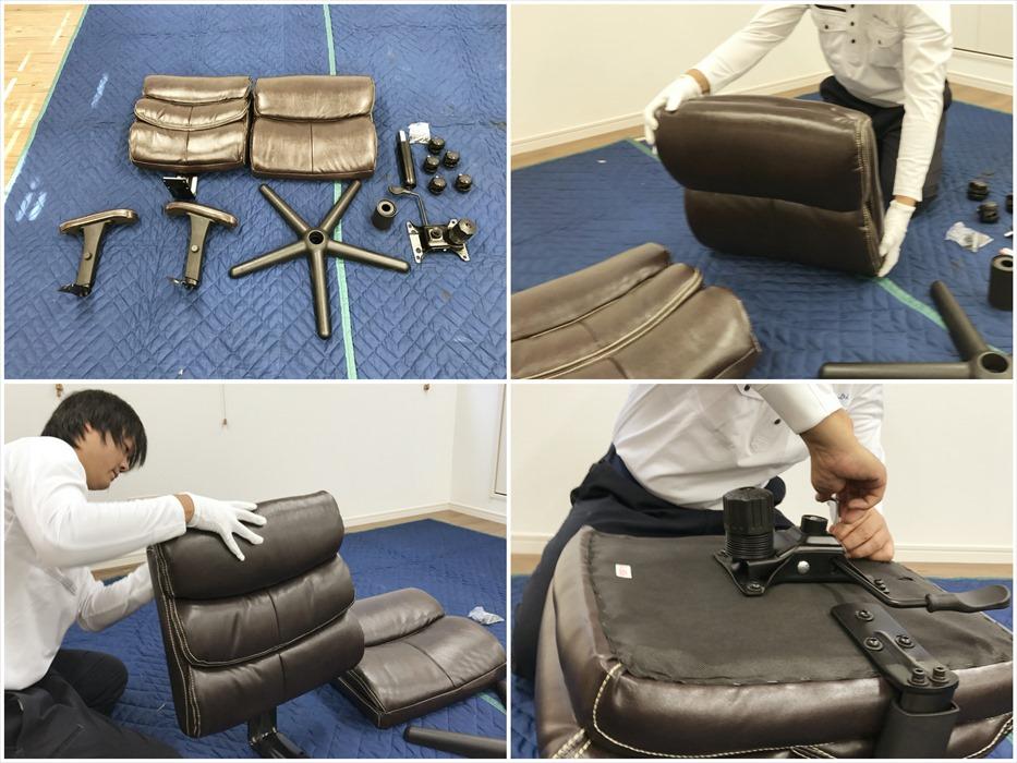 椅子組立_