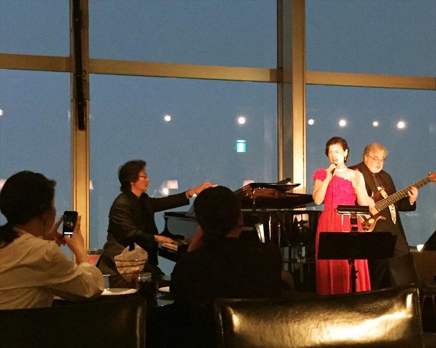 パークハイアット東京で行われたフィリップ・ウー様のライブ