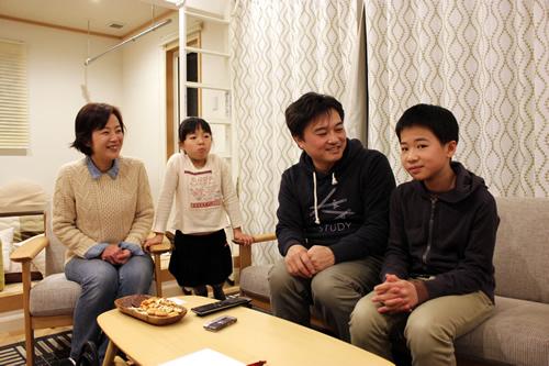 お引越しご利用の田中様ご家族様インタビュー.5