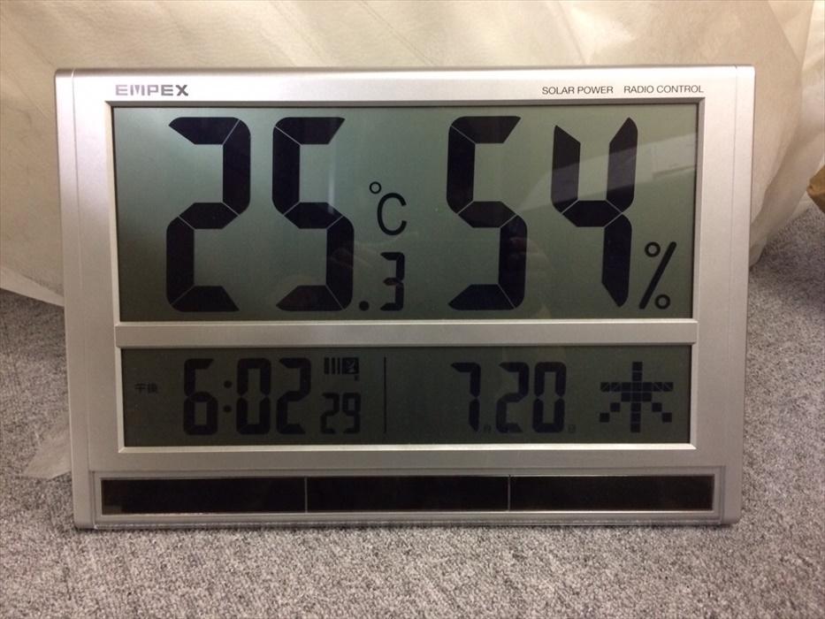 温度湿度もしっかり管理しています