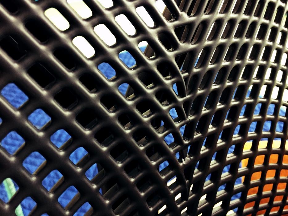 セイルチェアの網状の構造