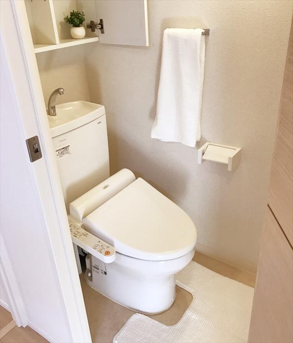 ホームステージング完了後のトイレ