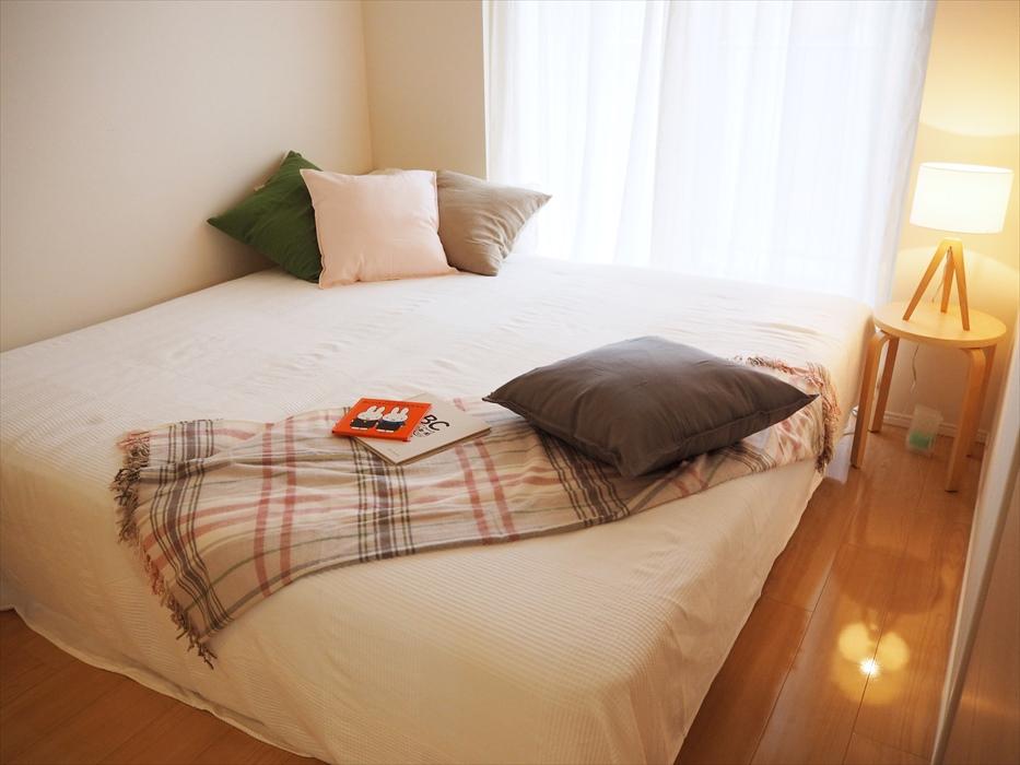 ホームステージング完了後の寝室