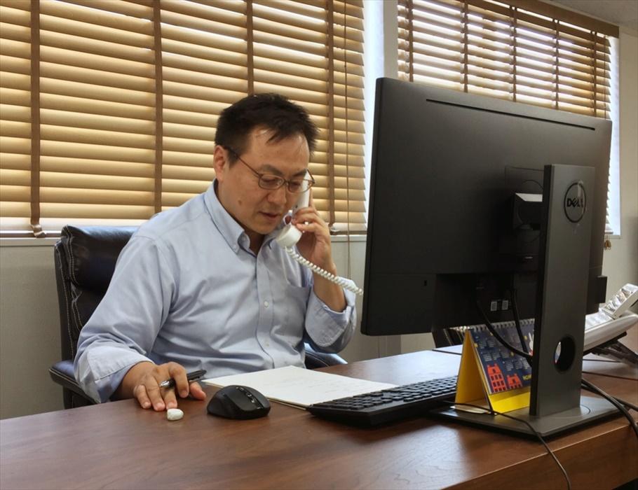 My Staff:内ケ﨑(うちがさき)