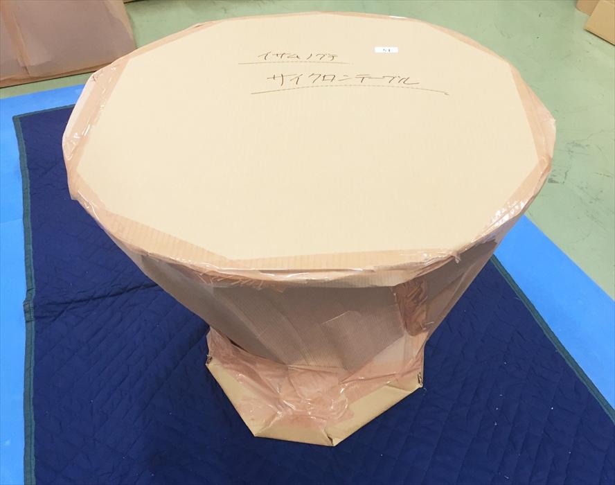 イサム・ノグチダイニングテーブルの保管用梱包.2