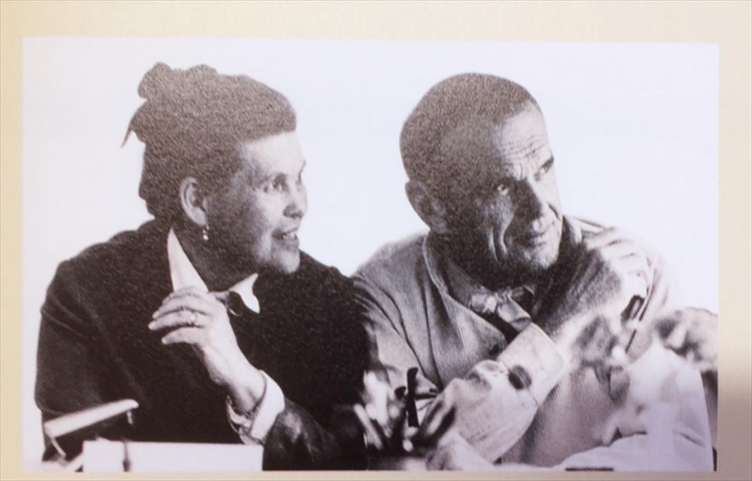 チャールズ&レイ・イームズの肖像画