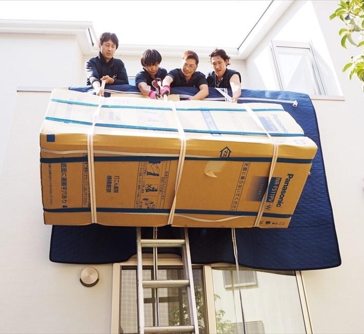 家具の手吊りサービス
