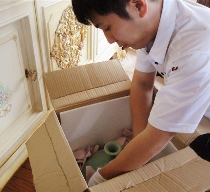 荷物の箱詰めサービス