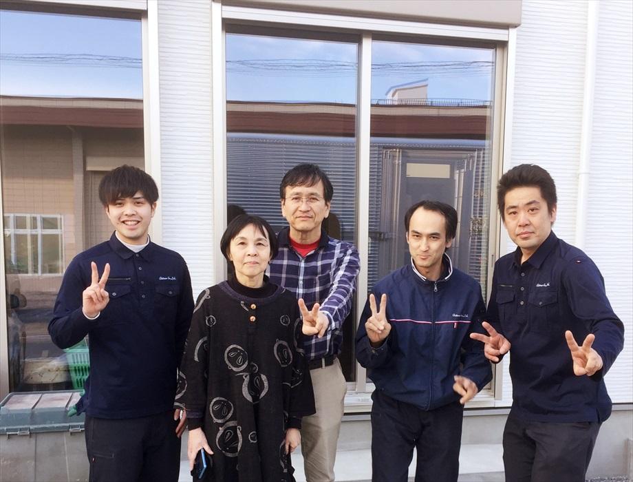 ご紹介でお引越しのお客様記念撮影.2