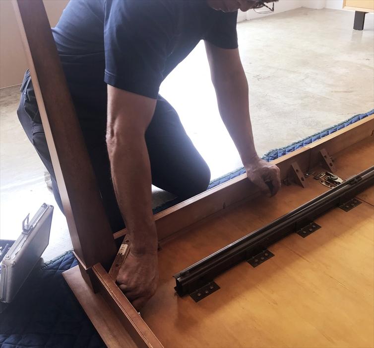 ダイニングテーブル分解.1