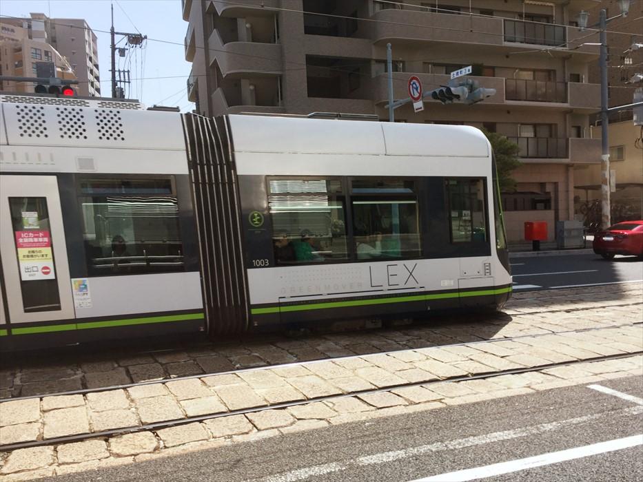 広島市内の路面電車
