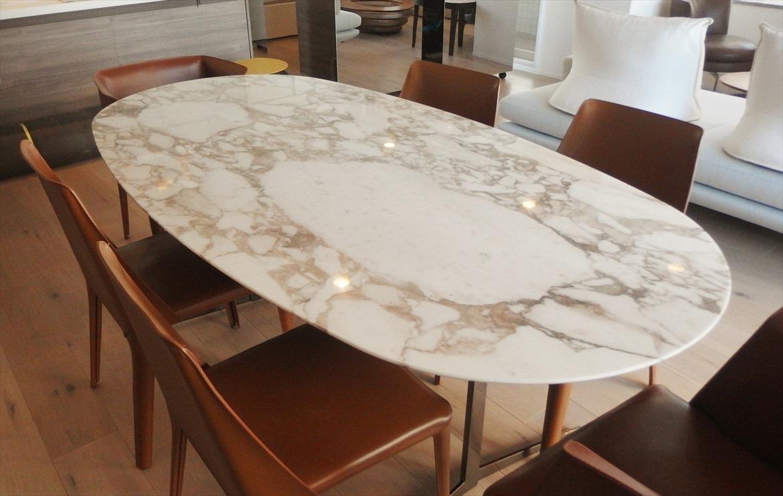 高級ブランド大理石テーブル