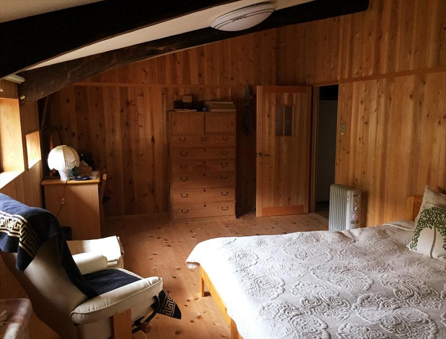 北欧のベッドルーム