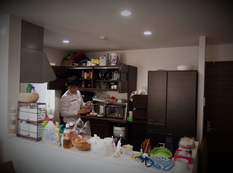 キッチンの片付けお手伝い