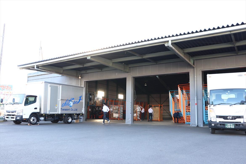 神奈川県座間市保管倉庫