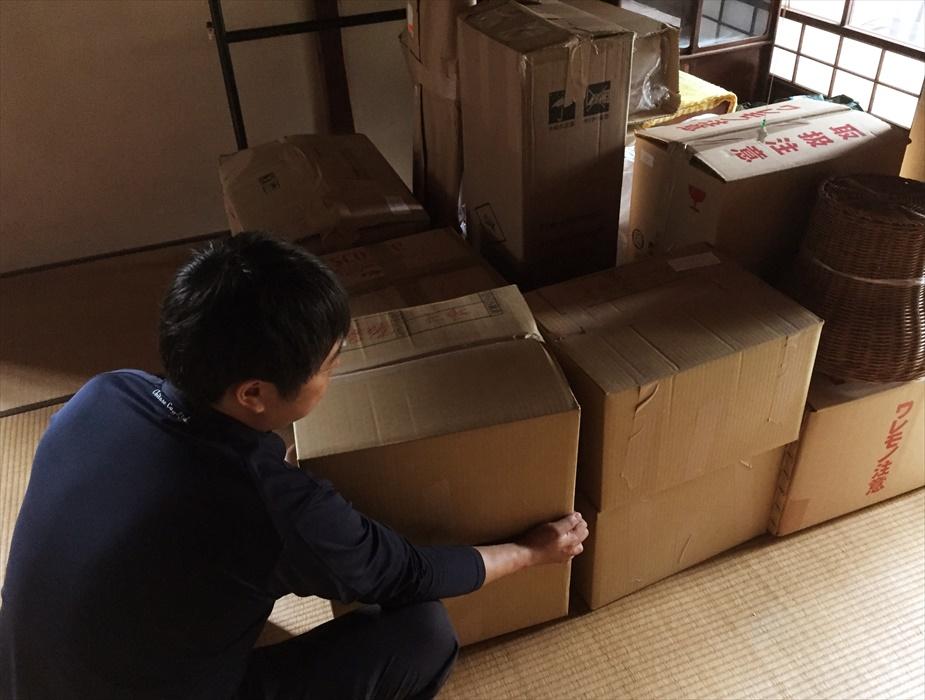 引越荷物の搬入設置