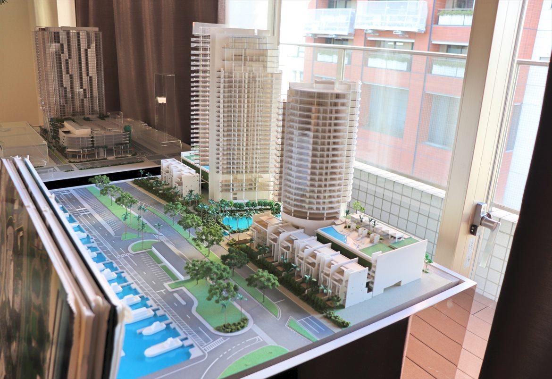 ワードビレッジの建築模型(ジオラマ)