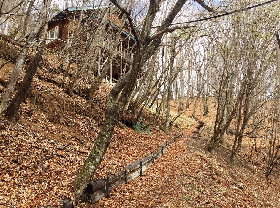 別荘の建物