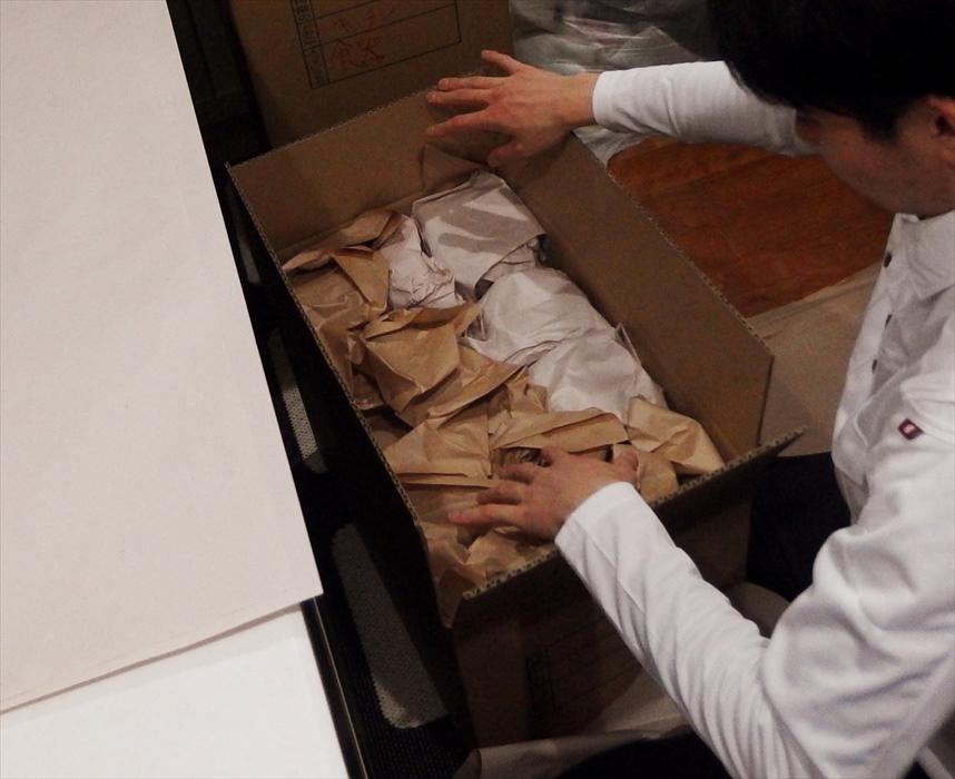 荷造り(梱包)作業.3
