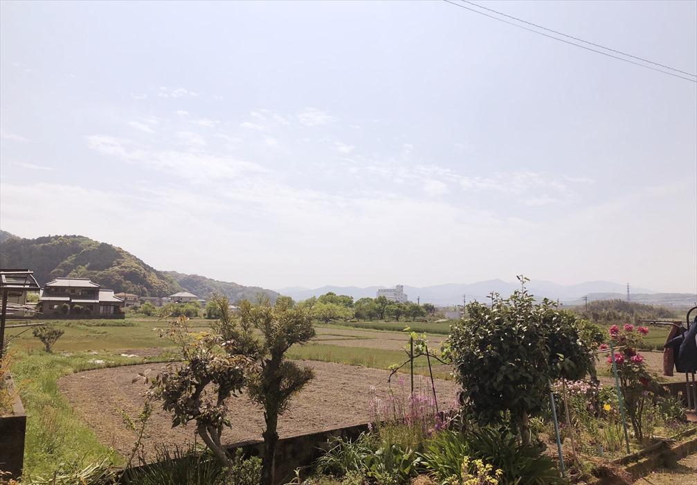 大分の田園風景