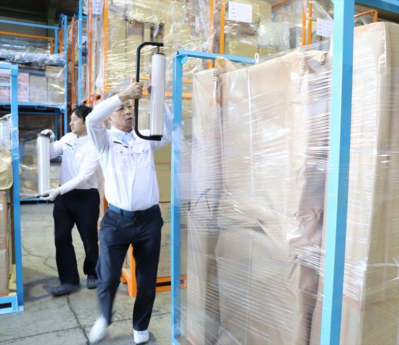 倉庫内保管作業イメージ写真