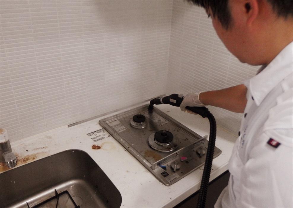 キッチンクリーニング.2