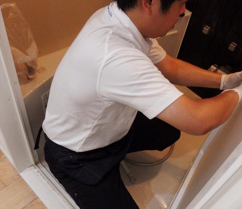 浴室クリーニング.2