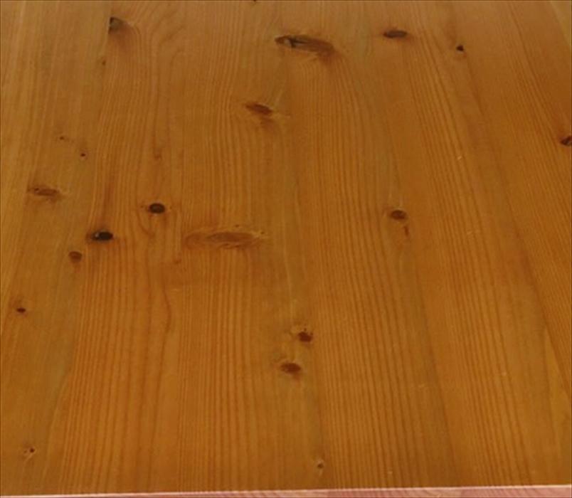 スギ材のダイニングテーブル天板