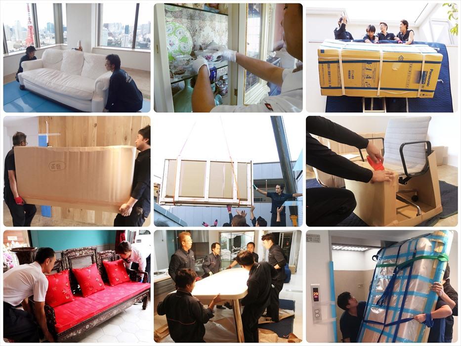 倉庫を活用した家具取扱いサービス