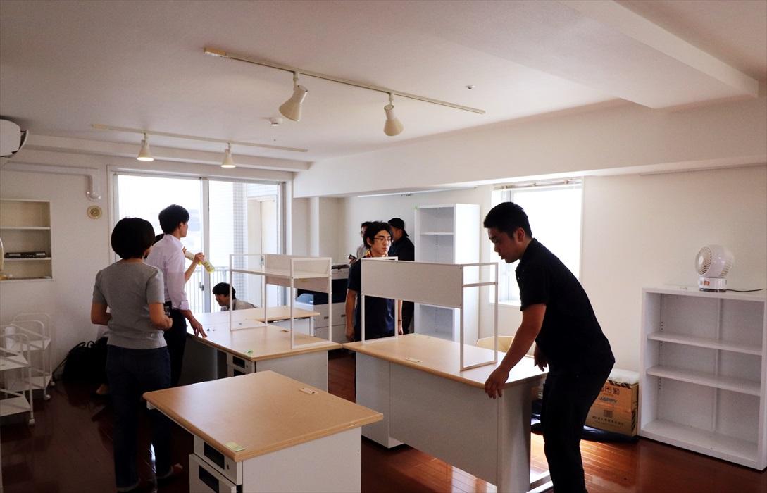 オフィス移転搬入作業.2