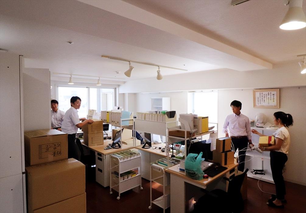 オフィス移転搬入作業.5