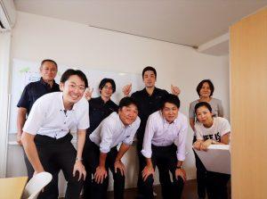 オフィス移転後の記念写真.3