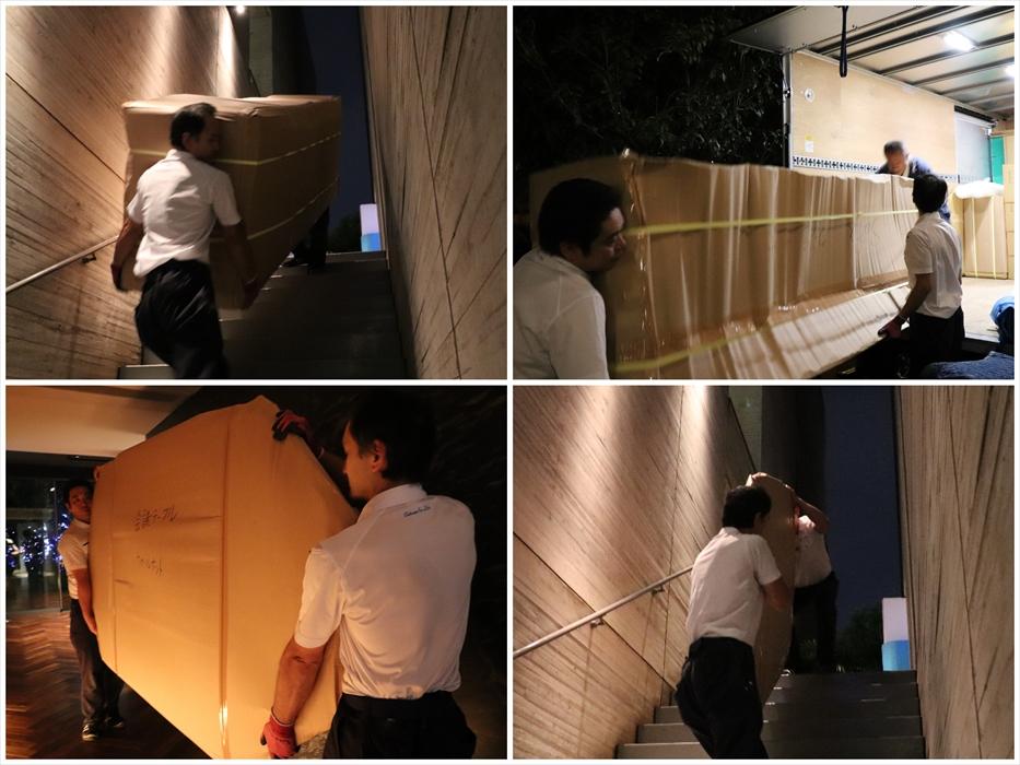 イタリア製ブランド家具の運搬