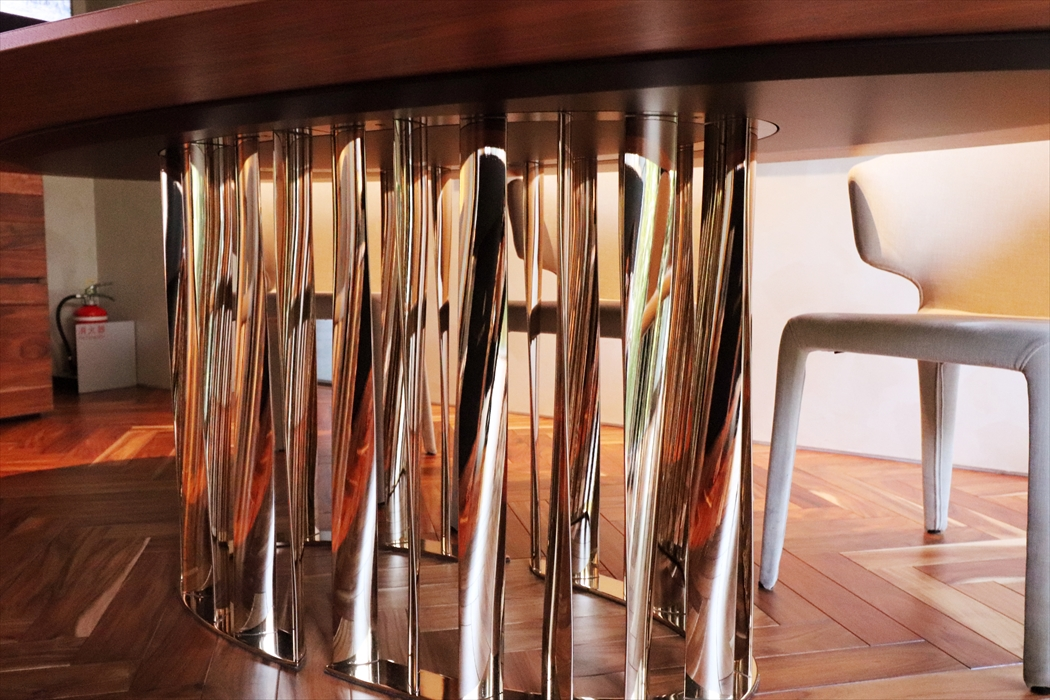 475BOBOLIテーブル(オーバル|アメリカンウォールナット).3