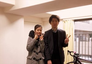 引越サービスご利用のリピーター様ご新居記念写真.1