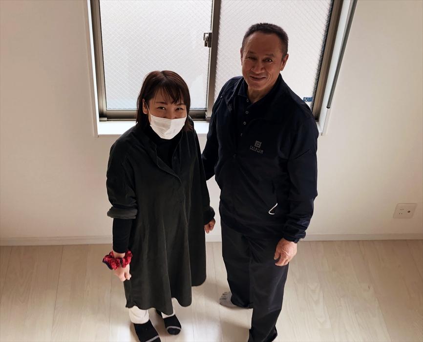 お引越しサービスご利用のお客様記念撮影.1