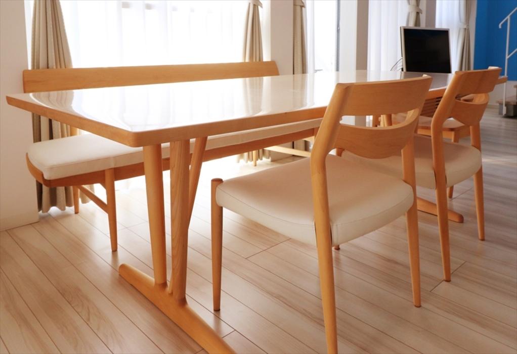 カリモクダイニングテーブルセット