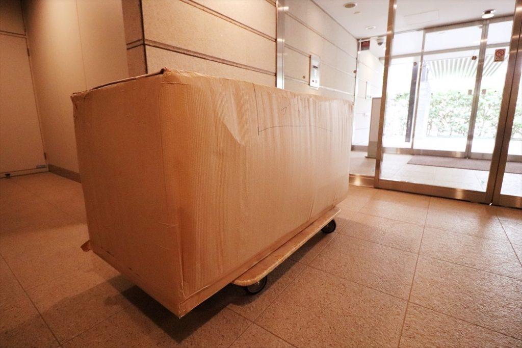 ポリフォーム(スカッチ)サイドボード搬入準備.2