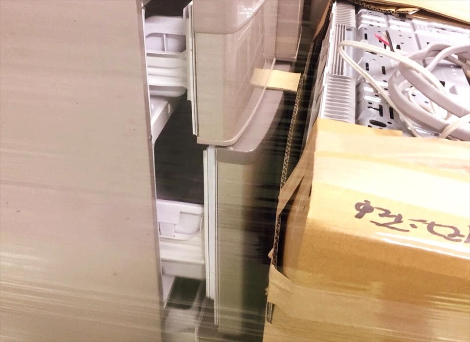 冷凍庫を開けた冷凍庫.1