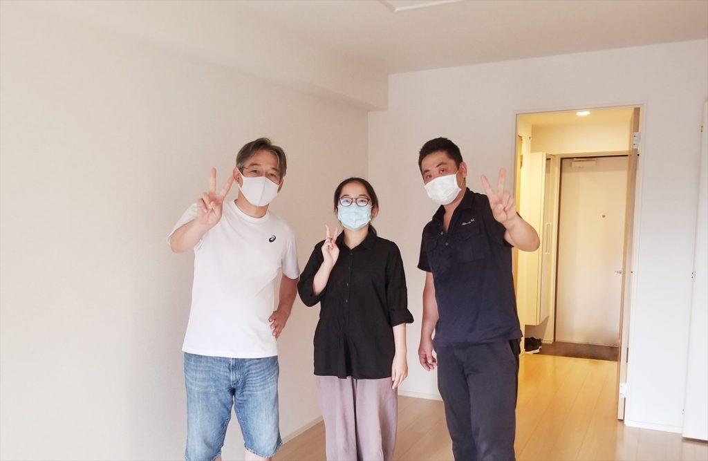リモート授業学生キャンペーン荷物保管ご利用のお客様記念撮影.2